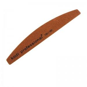 Пилка для ногтей Half Brown 100/180