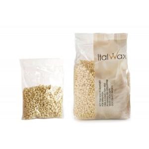 """Воск для депиляции """"Белый шоколад"""" горячий, пленочный в гранулах ItalWax ( ИталВакс ), 1 кг"""