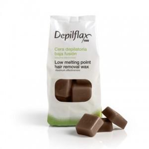 Воск горячий Шоколад Depilflax, 1кг