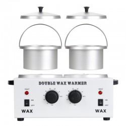 Двойной баночный воскоплав для банок 400 мл DOUBLE WAX WARMER