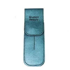 Чехол для двух пинцетов Q-Beauty (голубой)
