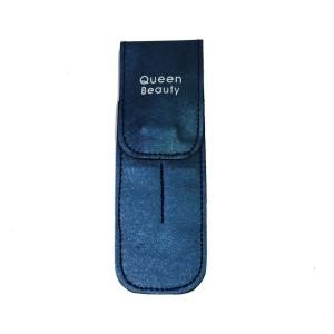 Чехол для двух пинцетов Q-Beauty (синий)