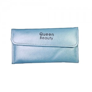 Чехол для шести пинцетов Q-Beauty (голубой)