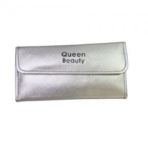 Чехол для шести пинцетов Q-Beauty (серебро)