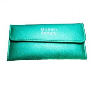 Чехол для шести пинцетов Q-Beauty (зеленый)