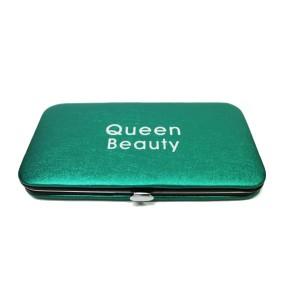 Магнитный кейс Q-Beauty для пинцетов (Зеленый)