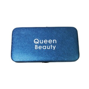 Магнитный кейс Q-Beauty для пинцетов (Синий)