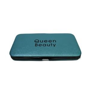 Магнитный кейс Q-Beauty для пинцетов (Голубой)