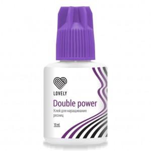 """Клей Чёрный Lovely """"Double Power"""", 10 мл"""