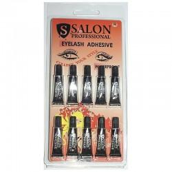 Клей для ресниц Salon Professional водостойкий, чёрный, 1 мл