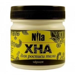 "Хна для бровей и био тату черная ""NILA""(10,20,50,100гр)"