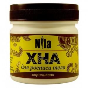 "Хна для бровей и био тату коричневая ""NILA""(10,20,50,100гр)"