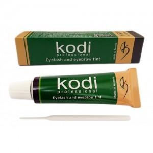 "Краска для ресниц и бровей коричневая ""Kodi"" (15 мл)"