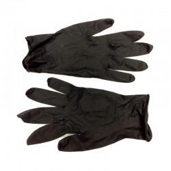 Перчатки латексные чёрные, размеры L, S, M, XS.