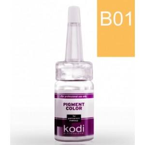 "Пигменты для бровей ""Kodi"" B01-B14 (палитра цветов)"