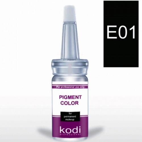 """Пигмент для глаз """"Kodi"""" Е01 - Е03 (палитра цветов)"""