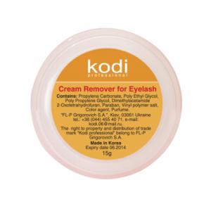 """Ремувер для ресниц на кремовой основе """"Kodi"""" PINK, 15 г"""