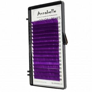 Ресницы фиолетовые Annabelle - MIX
