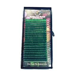 Ресницы зелёные I-Beauty - MIX