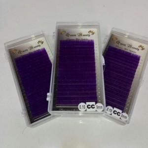 Ресницы фиолетовые Queen Beauty (один размер)