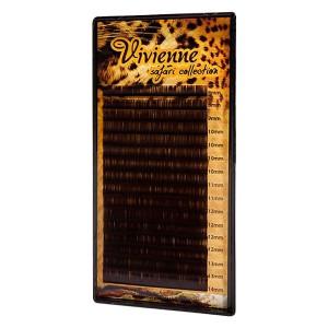 Ресницы черный шоколад Vivienne (один размер)